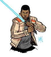 Star Wars: The Force Awakens: Finn by FelipeSmith