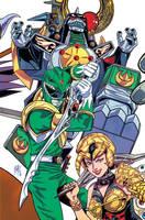 Mighty Morphin Power Rangers #1 (ECCC '16 Variant) by FelipeSmith