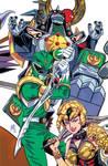 Mighty Morphin Power Rangers #1 (ECCC '16 Variant)
