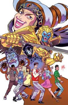 Mighty Morphin Power Rangers # 0 (WonderCon 2016)