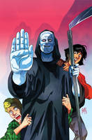 Bill and Ted's Most Triumphant Return # 5 Cover by FelipeSmith