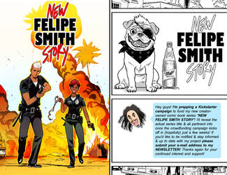 New Felipe Smith Story: Newsletter 2 by FelipeSmith