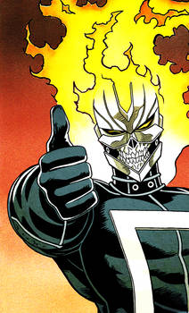Ghost Rider Thumbs-Up: Robbie Reyes Edition