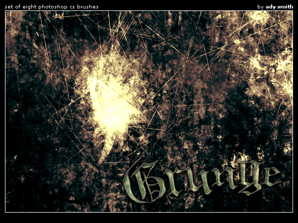 Grunge brushes photoshop by brushadobe