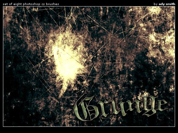 Grunge brushes photoshop by brushadobe