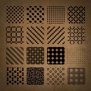 Free Dotted Photoshop Patterns by brushadobe on DeviantArt