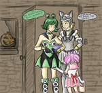 Halloween with the Animates