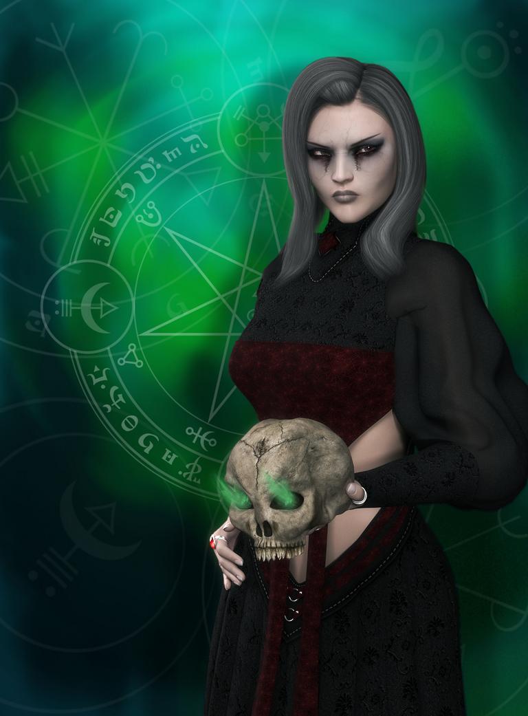 Necromancer by vaitel
