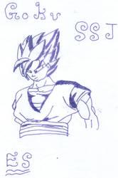 Goku SSJ by ELSHOCK
