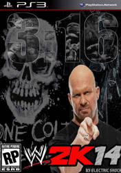 WWE 2k14 Cover Contest Stone Cold Entry