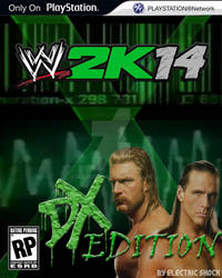 WWE 2k14 Cover Contest D-Generation X Entry