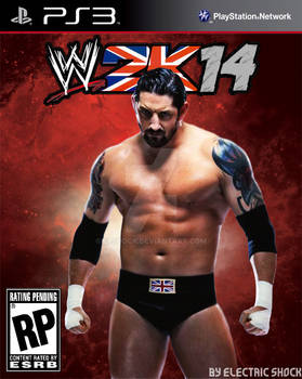 WWE2K14 Cover Contest Wade Barrett Entry