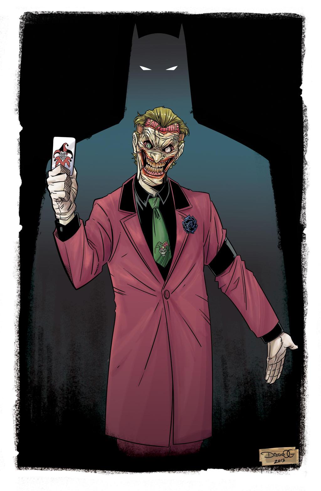 The Joker by DiegoOlortegui