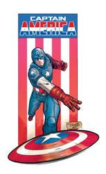 Captain America by DiegoOlortegui