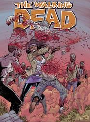 The Walking Dead - Michonne by DiegoOlortegui
