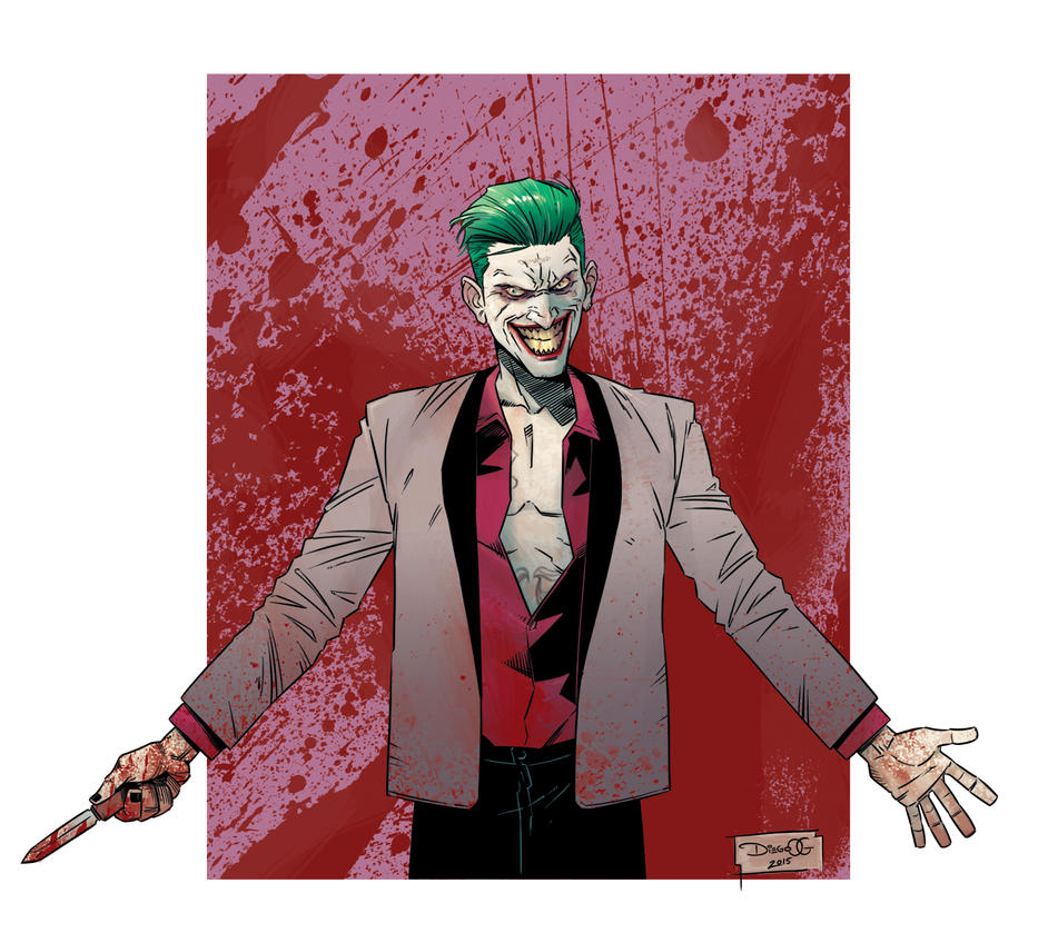 Suicide Squad - Joker by DiegoOlortegui
