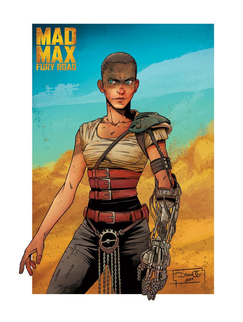 MAD MAX FURY ROAD - Imperator Furiosa by DiegoOlortegui