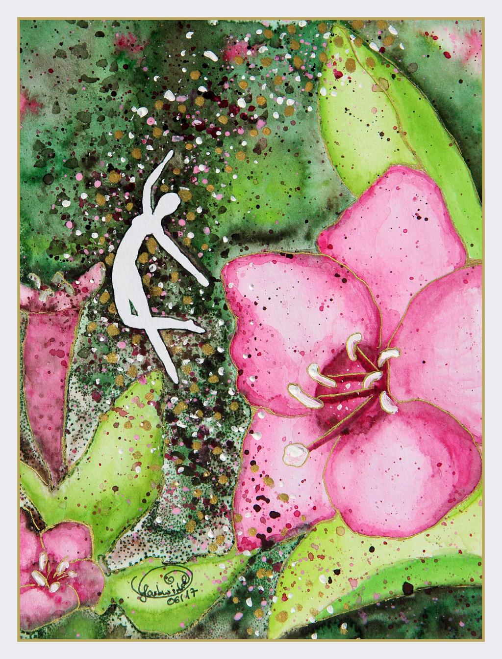 Alpine Rose Sprite by farbwirbel on DeviantArt