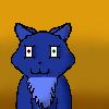 Blue Cat by OoRose