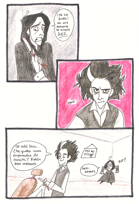 Severus meets Sweeney by Minos336