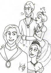 TLK Studio The Royal Couples 1 by Minos336