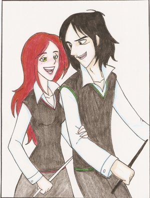 Lily y Severus again. by Minos336