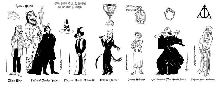 Anthropomorphic Harry Potter_Series 2
