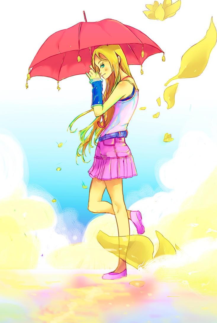Under My Umbrella! ellaa! ella! eh! eh! eh! by Kiresoup