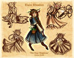 Elain Rhoslon - The Four Kingdoms