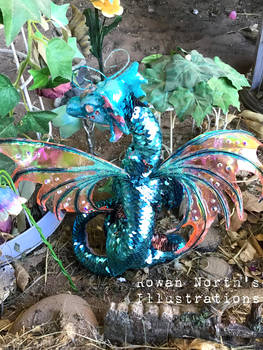 The Faery Dragon Poseable Art Doll
