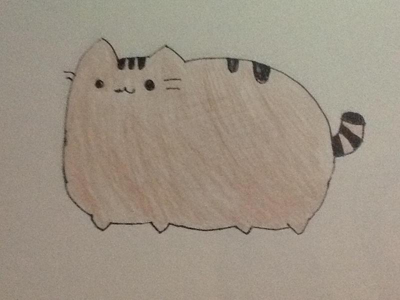 Pusheen the cat by MikuChan12345