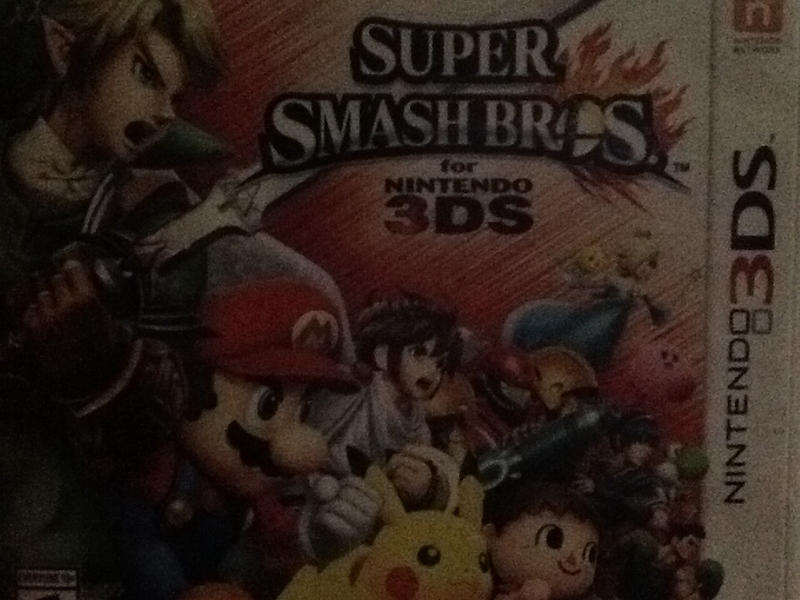 Super Smash Bros For 3DS by MikuChan12345