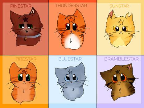 ThunderClan Leaders