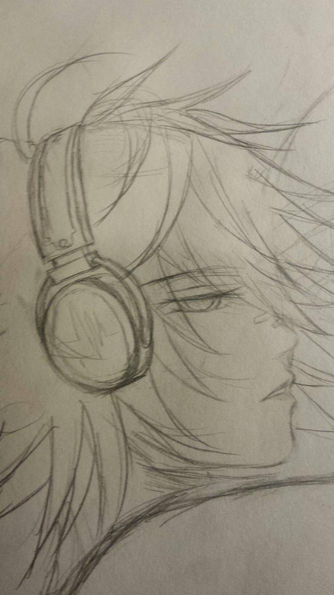 WIP Sandman 7 sketch 2 by Umiame