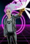 Gold Gun Girl the Broken Hearted by alfred24
