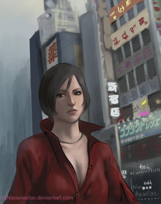 Ada Wong in Japan.Yep - no China. by Naoanastas