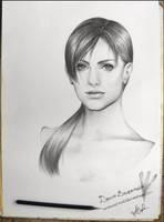 Ms. Valentine - portrait by Naoanastas