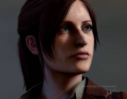 Claire Redfield current gen (or something) by Naoanastas