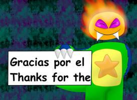 Agradecimiento favorito by Quilmer