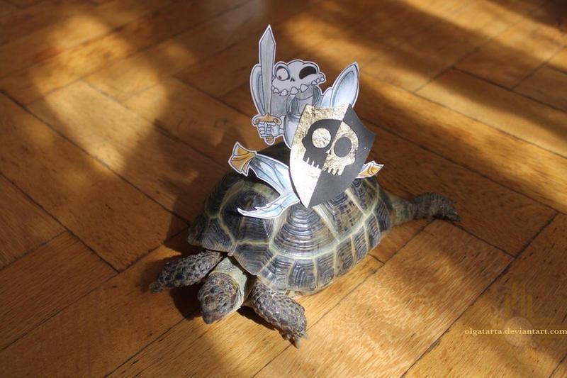 New riding animal by olgatarta