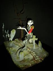 Medievil diorama