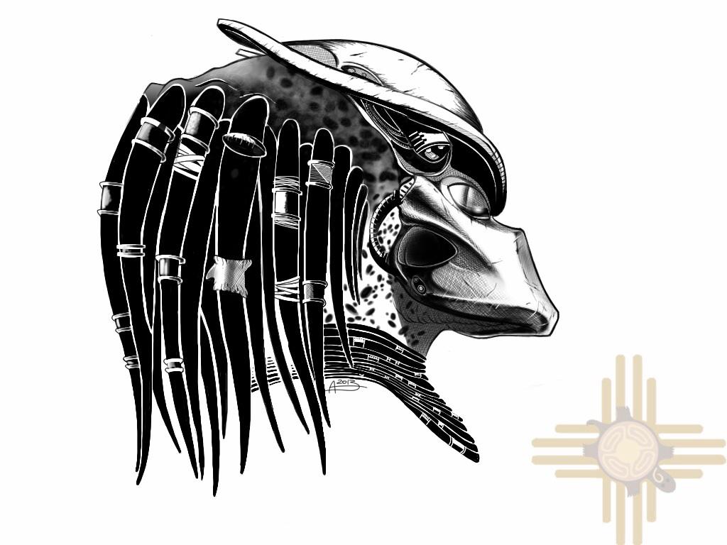 Predator black n'white by olgatarta