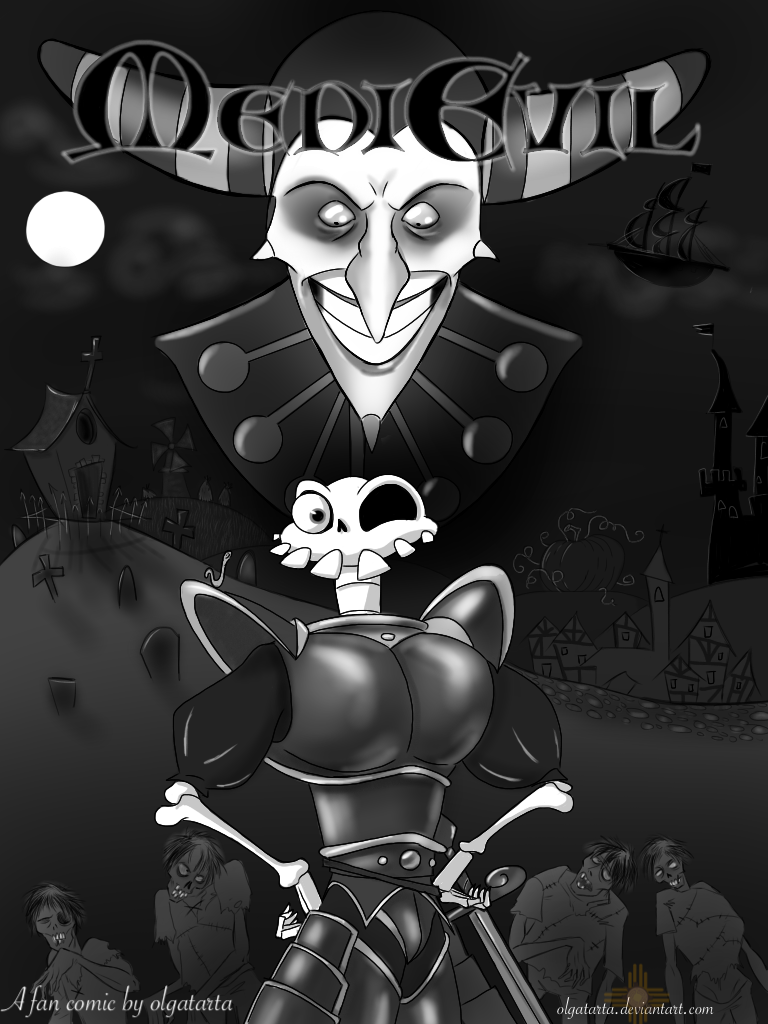 MediEvil comic - cover by olgatarta