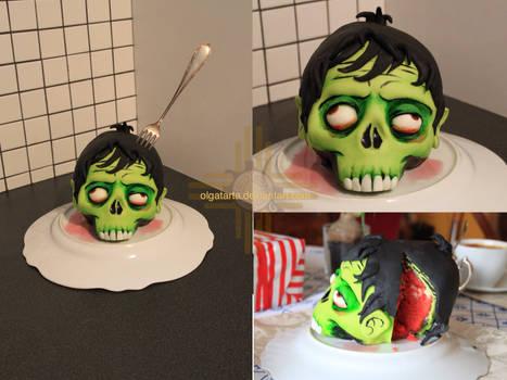 Zombie head - CAKE