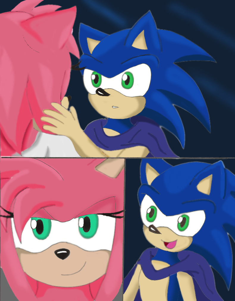 Sonic and amy sonamy love sex - 5 3
