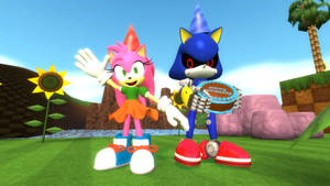 Amy and Metal Sonic 27th year