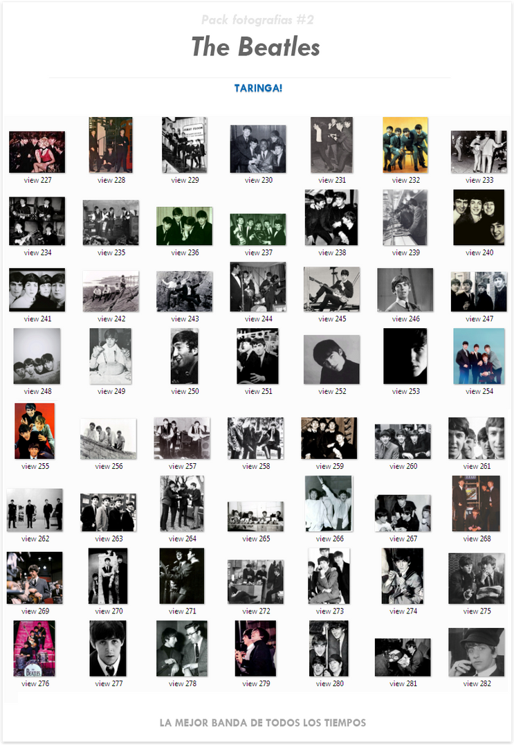 Pack fotografias ineditas de The Beatles (221 fotos) #2 [DA]
