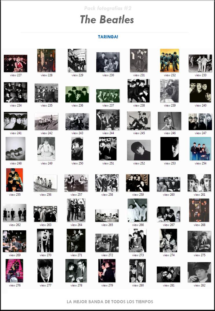 Pack fotografias ineditas de The Beatles (221 fotos) #2 [DA]