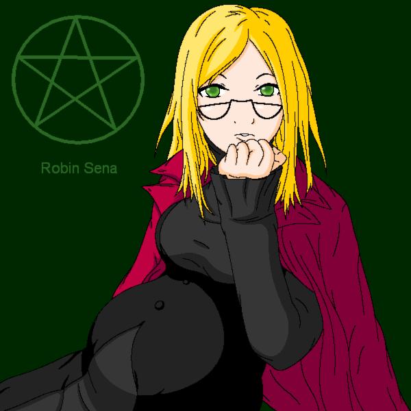Witch Hunter Robin By Kazuv On Deviantart