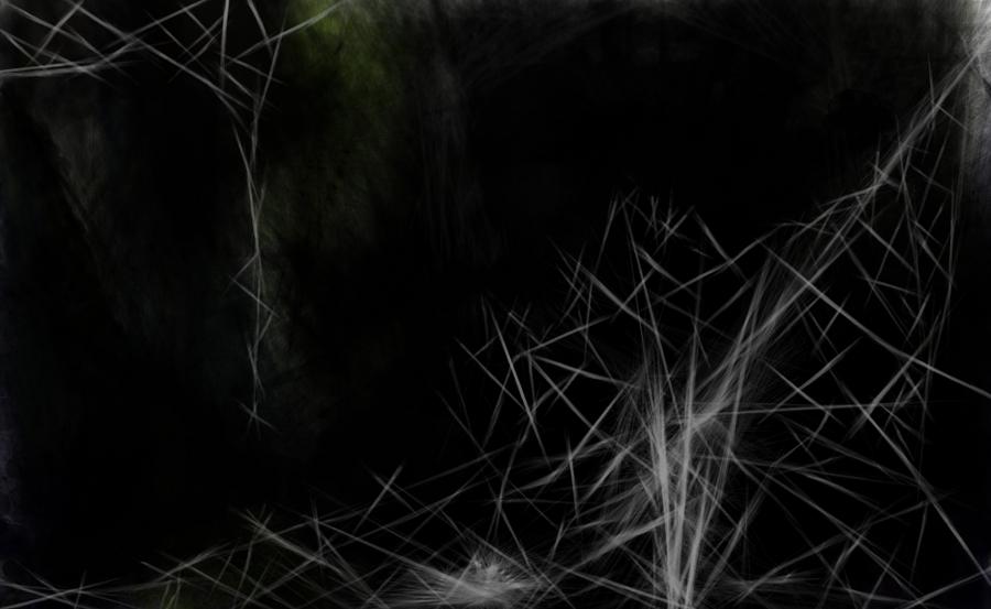 Spiderweb, No Movement by OmART